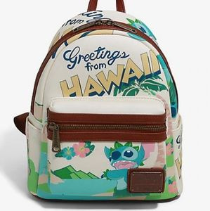 Loungefly stitch backpack